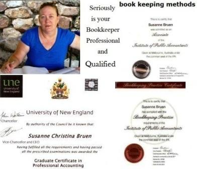 professional and qualified bookkeeper